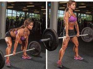Chica Fitness aumentar brazos