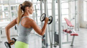Fitness para mujeres, guía de ejercicios de los brazos